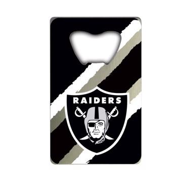 Picture of NFL - Las Vegas Raiders Credit Card Bottle Opener