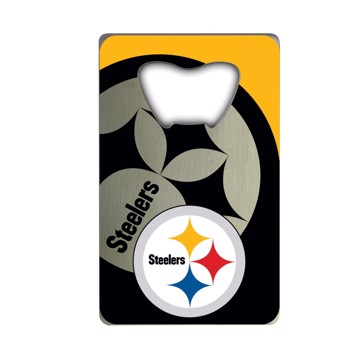 Picture of NFL - Pittsburgh Steelers Credit Card Bottle Opener