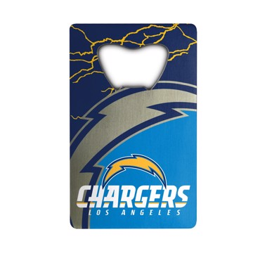 Picture of NFL - Los Angeles Chargers Credit Card Bottle Opener
