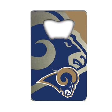 Picture of NFL - Los Angeles Rams Credit Card Bottle Opener