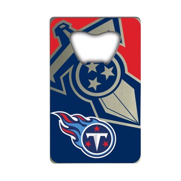 Picture of NFL - Tennessee Titans Credit Card Bottle Opener