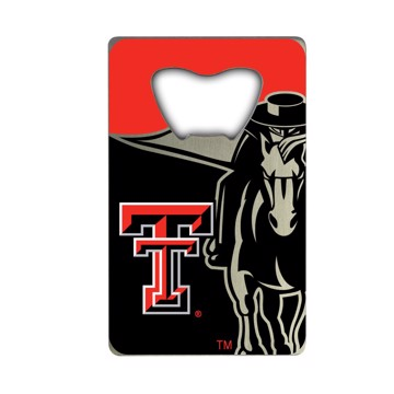 Picture of Texas Tech Credit Card Bottle Opener