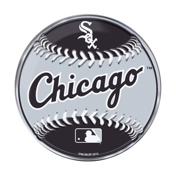Picture of MLB - Chicago White Sox Embossed Baseball Emblem