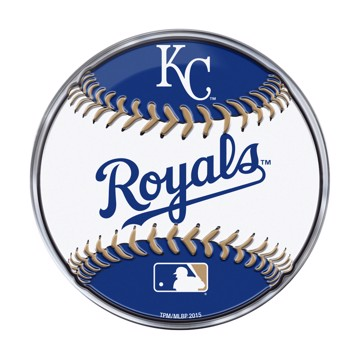 Picture of MLB - Kansas City Royals Embossed Baseball Emblem