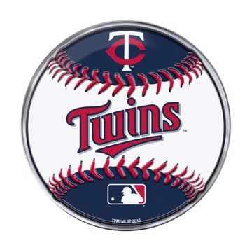 Picture of MLB - Minnesota Twins Embossed Baseball Emblem