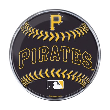 Picture of MLB - Pittsburgh Pirates Embossed Baseball Emblem