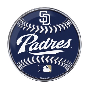 Picture of MLB - San Diego Padres Embossed Baseball Emblem