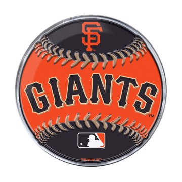 Picture of MLB - San Francisco Giants Embossed Baseball Emblem