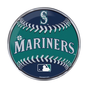 Picture of MLB - Seattle Mariners Embossed Baseball Emblem
