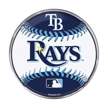 Picture of MLB - Tampa Bay Rays Embossed Baseball Emblem
