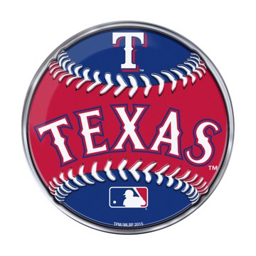 Picture of MLB - Texas Rangers Embossed Baseball Emblem