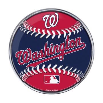 Picture of MLB - Washington Nationals Embossed Baseball Emblem