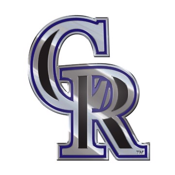 Picture of MLB - Colorado Rockies Embossed Color Emblem
