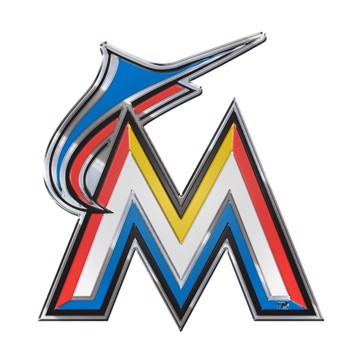 Picture of MLB - Miami Marlins Embossed Color Emblem