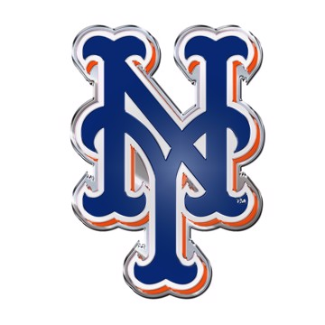 FANMATS 26654 MLB New York Mets Color Hitch Cover Chrome