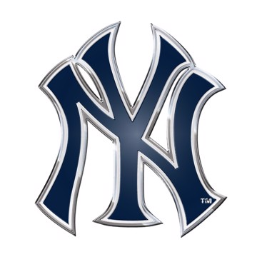 Picture of MLB - New York Yankees Embossed Color Emblem
