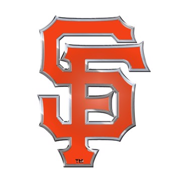 Picture of MLB - San Francisco Giants Embossed Color Emblem