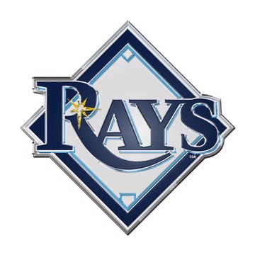 Picture of MLB - Tampa Bay Rays Embossed Color Emblem