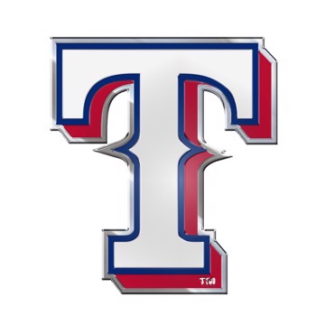 Picture of MLB - Texas Rangers Embossed Color Emblem