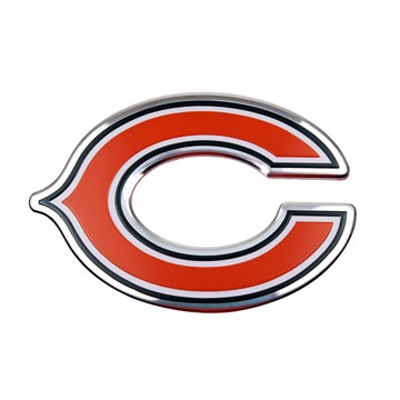 Picture of NFL - Chicago Bears Embossed Color Emblem