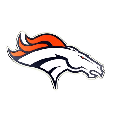 Picture of NFL - Denver Broncos Embossed Color Emblem