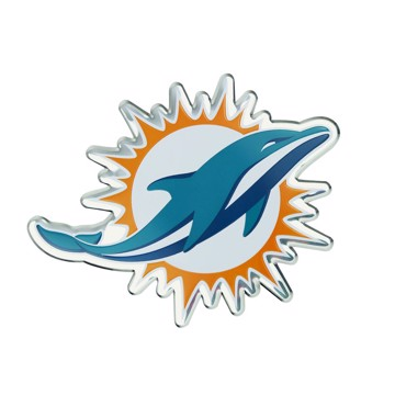 Picture of NFL - Miami Dolphins Embossed Color Emblem