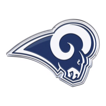 Picture of NFL - Los Angeles Rams Embossed Color Emblem