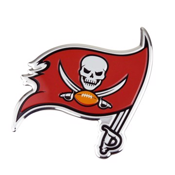 Picture of NFL - Tampa Bay Buccaneers Embossed Color Emblem
