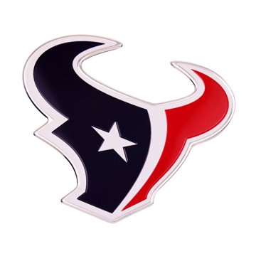 Picture of NFL - Houston Texans Embossed Color Emblem