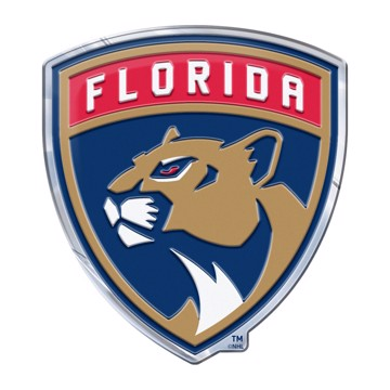 Picture of NHL - Florida Panthers Embossed Color Emblem