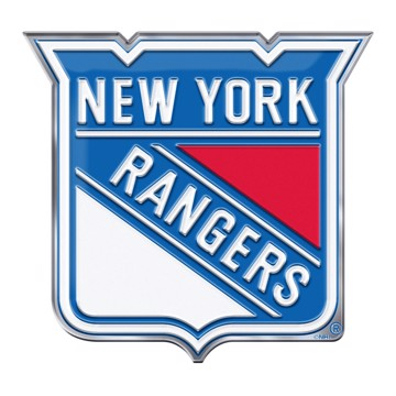 Picture of NHL - New York Rangers Embossed Color Emblem