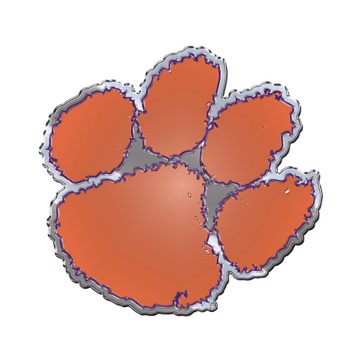 Picture of Clemson Embossed Color Emblem