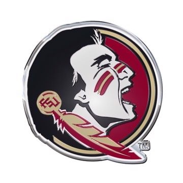 Picture of Florida State Embossed Color Emblem