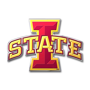 Picture of Iowa State Embossed Color Emblem