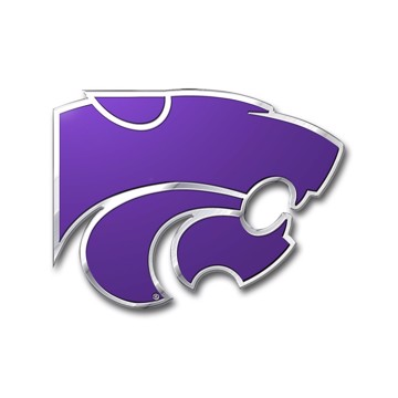 Picture of Kansas State Embossed Color Emblem