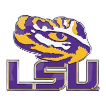 Picture of LSU Embossed Color Emblem