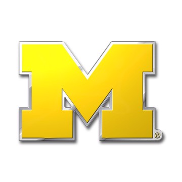 Picture of Michigan Embossed Color Emblem