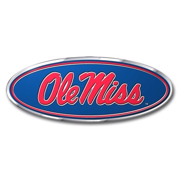 Picture of Ole Miss Embossed Color Emblem