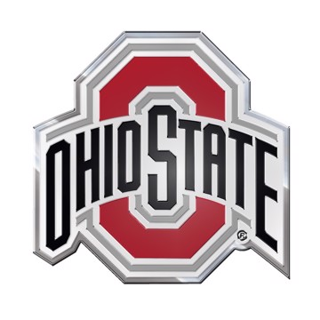 Picture of Ohio State Embossed Color Emblem