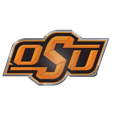 Picture of Oklahoma State Embossed Color Emblem
