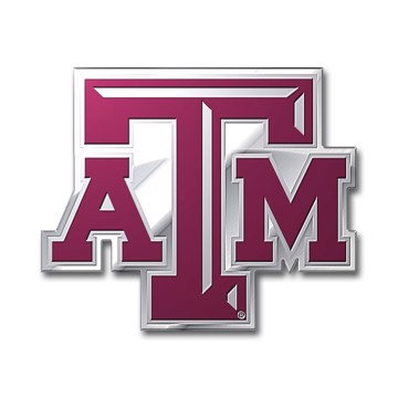 Picture of Texas A&M Embossed Color Emblem