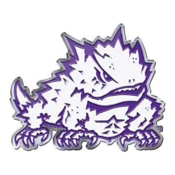 Picture of TCU Embossed Color Emblem