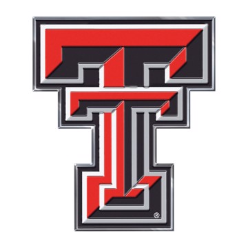 Picture of Texas Tech Embossed Color Emblem
