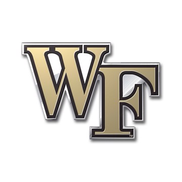 Picture of Wake Forest Embossed Color Emblem