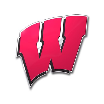 Picture of Wisconsin Embossed Color Emblem