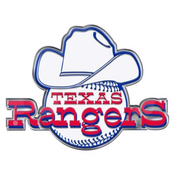 Picture of MLB - Texas Rangers Embossed Color Emblem 2