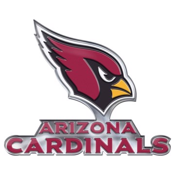 Picture of NFL - Arizona Cardinals Embossed Color Emblem 2