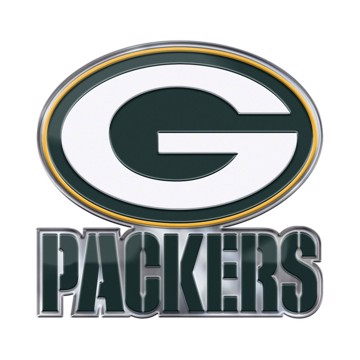 Picture of NFL - Green Bay Packers Embossed Color Emblem 2