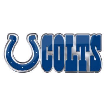 Picture of NFL - Indianapolis Colts Embossed Color Emblem 2