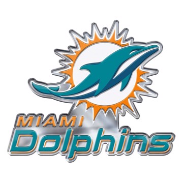 Picture of NFL - Miami Dolphins Embossed Color Emblem 2